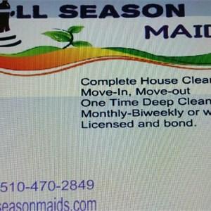 Allseason Maids Logo