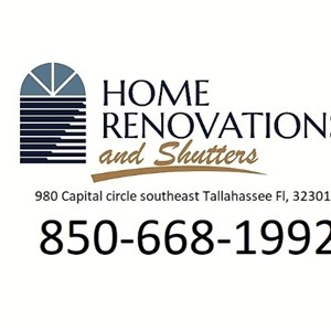 Home Renovation And Shutters Inc. Logo