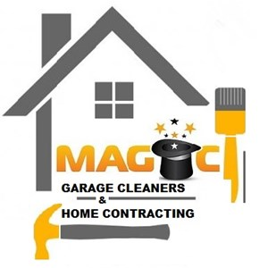 Magic Garage Cleaners & Home Contracting Logo
