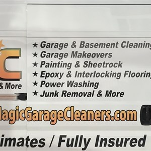 Magic Garage Cleaners & More! Logo