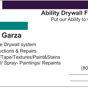 Ability Drywall Finishing Logo