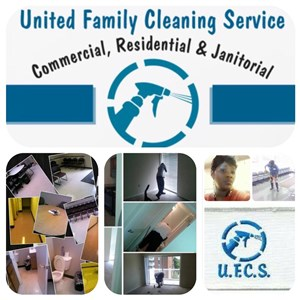 United Family Cleaning Service Logo