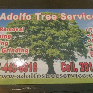 Adolfo Tree Service Logo