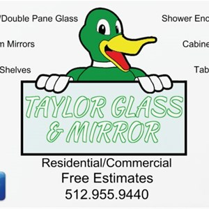 Taylor Glass & Mirror Logo