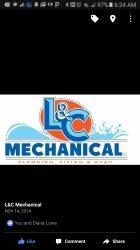 L&c Mechanical Logo