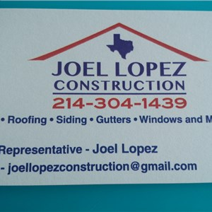 Joel Lopez Construction LLC Logo