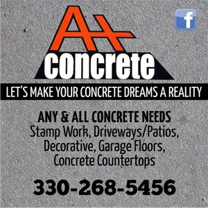 A+ Concrete and Waterproofing LLC Logo