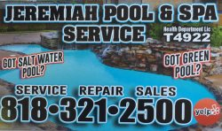 Jeremiah Pool Spa Service Logo