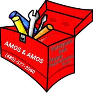 AMOS & AMOS HOME SRVCS. Logo