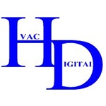 Hvac Digital Logo