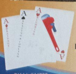 A 3 Aces Plumbing Logo