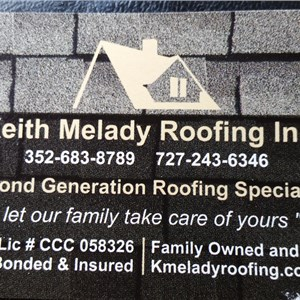 Keith Melady Roofing Logo
