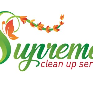 Supreme Clean up services Logo