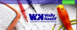 Wally Nassif Electrical Contracting Service Logo