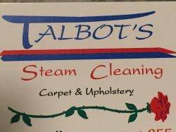 Talbots Steam Cleaning Logo