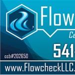 Flowcheck, LLC Logo