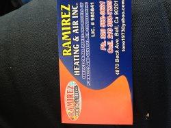 Ramirez Heating & AIR INC Logo