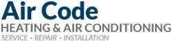 Air Code Air Conditioning & Heating Logo