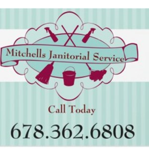 Mitchells Janitorial Service Logo