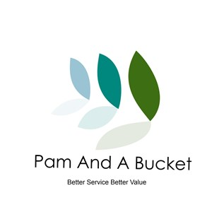 Pam And A Bucket Logo