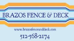 Brazos Fence & Deck Logo