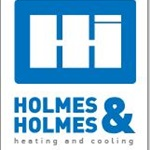 Holmes & Holmes Heating, Cooling, and IAQ Logo