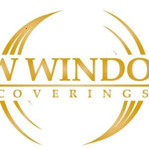 White Shutter Blinds Logo