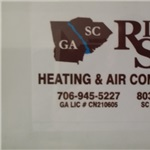 Riverside Heating & Air Conditioning Logo