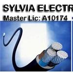 Sylvia Electrical Contracting Logo
