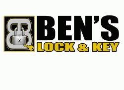 Bens Lock & Key Logo