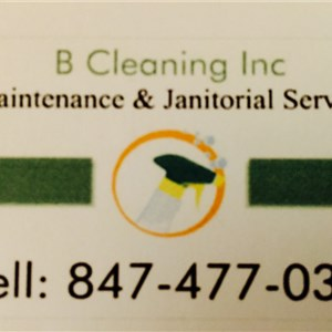 B Cleaning Inc. Logo