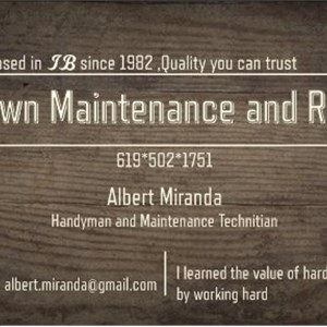 uptown Maintenance and Repair Logo