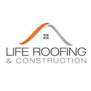 Life Roofing And Construction Logo
