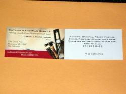 Hutchs Handyman Service Logo