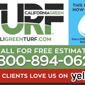 California Green Turf Cover Photo