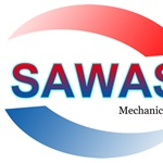 Sawas Mechanical Logo