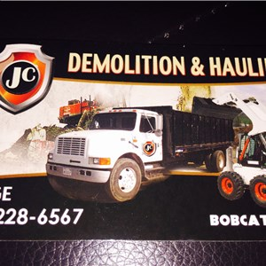 JC Demolition &  hauling Logo