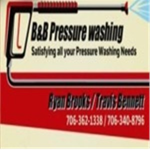 B&B Pressure Washing Logo