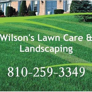 Wilsons Lawncare & Landscaping Logo