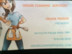 House Cleaning Svs Logo