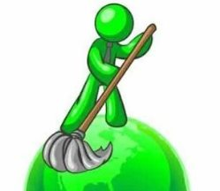 Triangle-pro-green-cleaning Service Logo