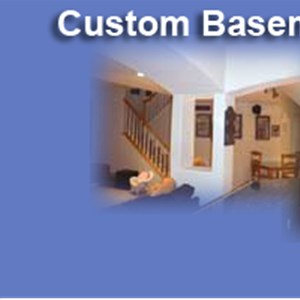 Basement Construction Company Logo
