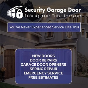 Security Garage Door Logo