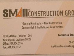 Small Construction Group, LLC Logo