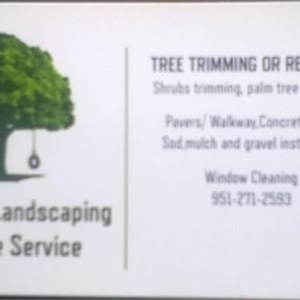 E Tree Service and Landscape Logo