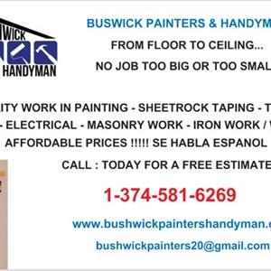 Bushwick Painters & Handyman Logo