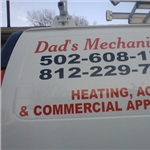 Dads Mechanical Inc HVAC and Commercial Food Appliances Logo