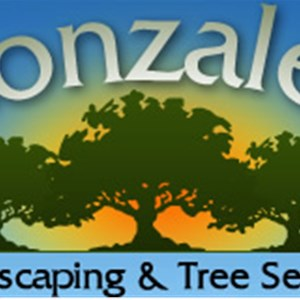 Gonzalez Landscaping and Tree Service Logo