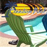 Freedom Pool Service Logo
