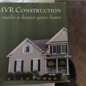 MVR Construction Cover Photo